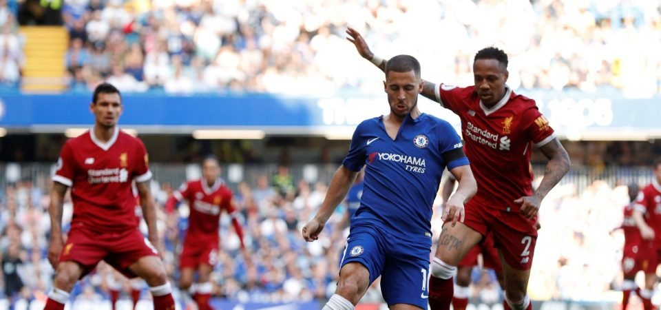 Liverpool fans did not enjoy Clyne's performance against Chelsea on Sunday