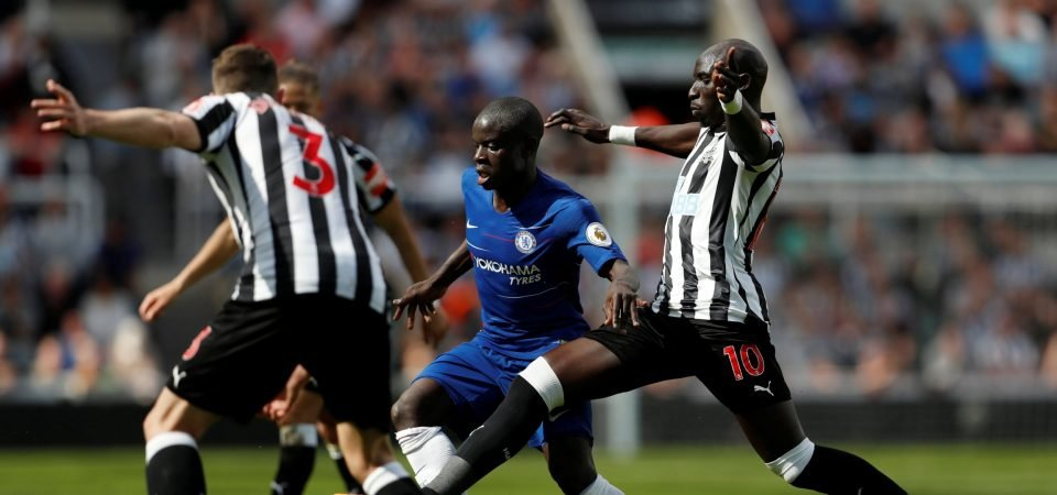 Newcastle United fans proclaim love for Mohamed Diame after another excellent performance