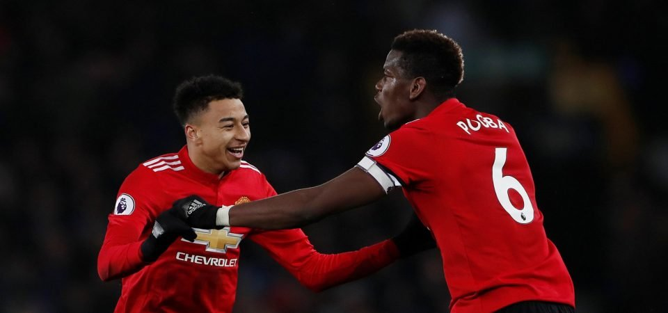 Lingard must modify his game to fit into the same starting XI as Paul Pogba