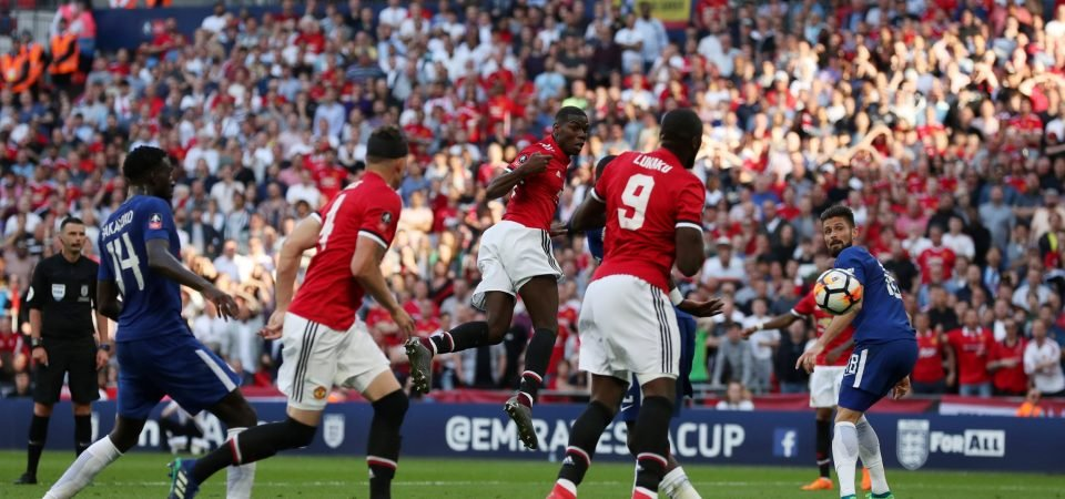 Paul Pogba fluffs his lines as Man United fall short in FA Cup final