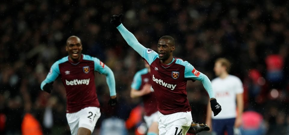 West Ham fans react to Obiang speculation