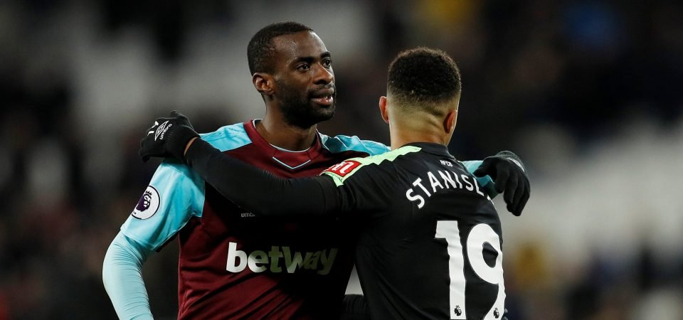 West Ham fans delighted with Obiang news