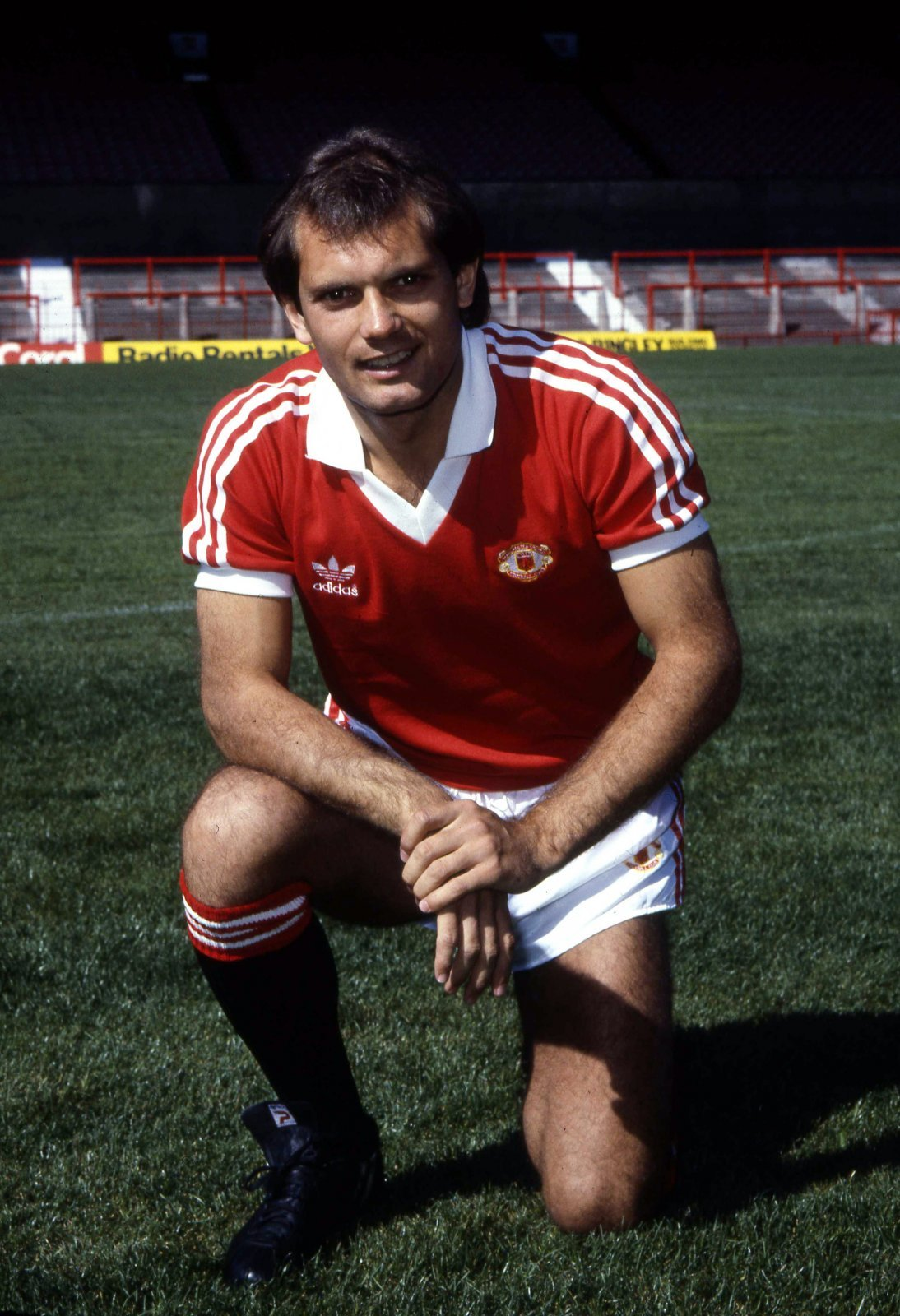 Ray Wilkins in his Manchester United kit