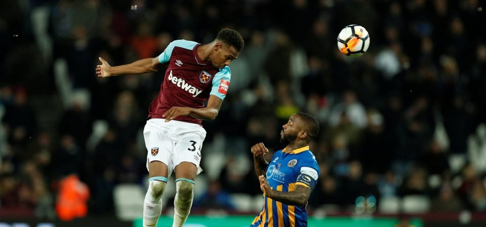 West Ham fans unhappy with Oxford performance