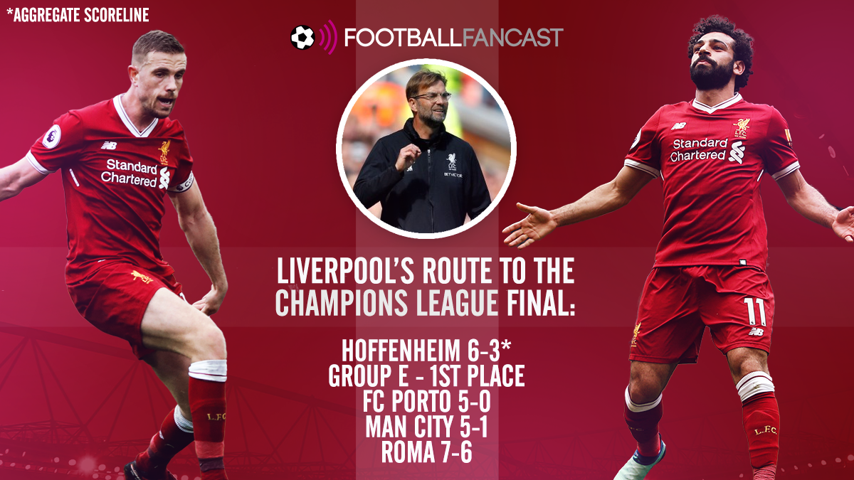 Route to the final - Liverpool