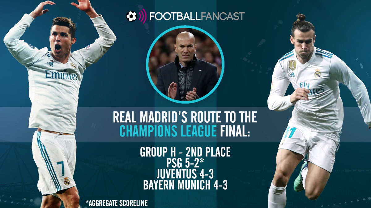 Route to the final - Real Madrid