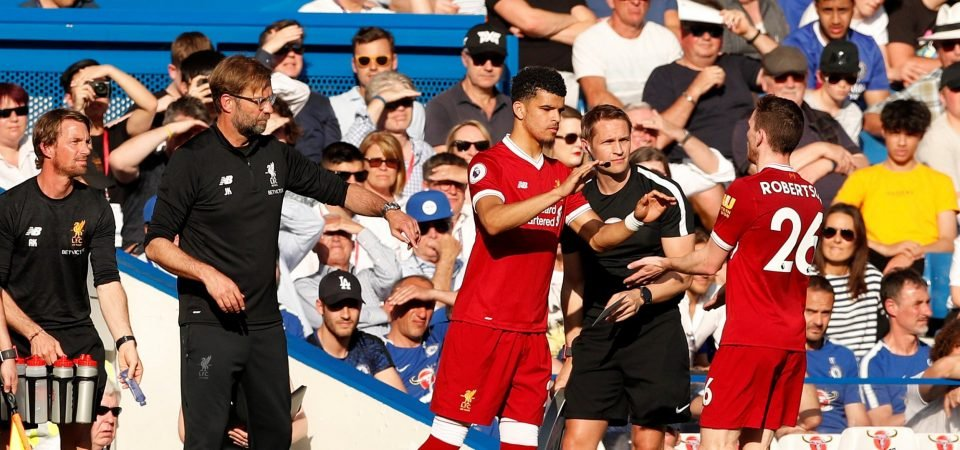 Liverpool fans criticise Solanke performance