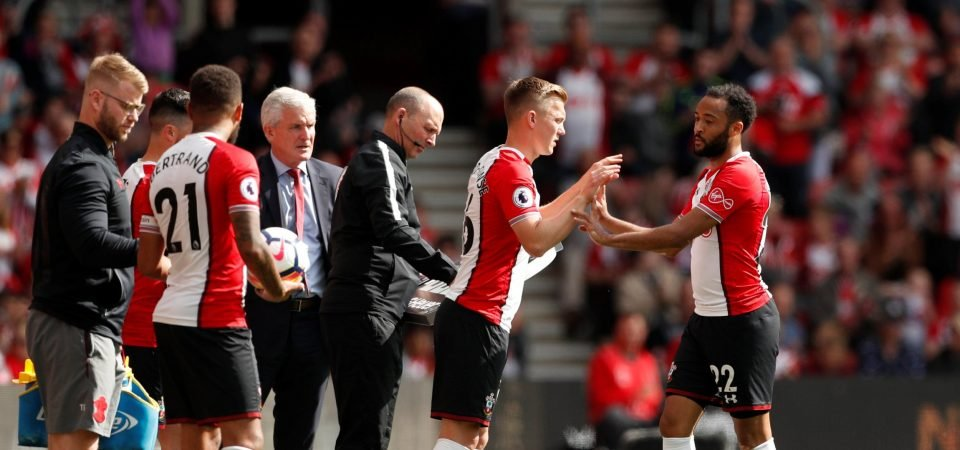 Southampton fans weren't happy with Nathan Redmond's performance on final day
