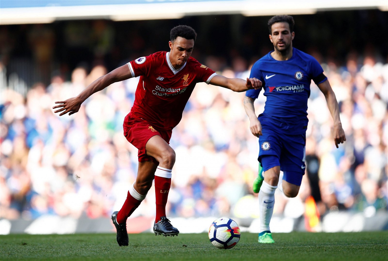 Trent Alexander-Arnold shapes up to shoot
