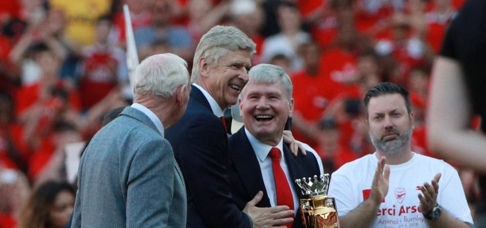 'Merci Arsene' - Arsenal fans get emotional as Wenger signs off in style