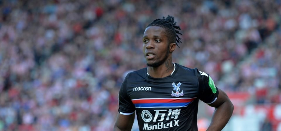 Everton fans react to Zaha speculation