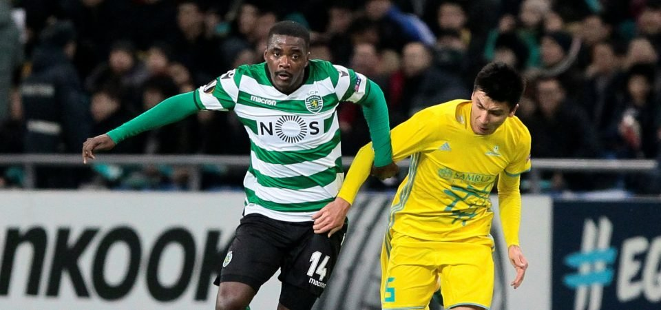 Arsenal should snap up William Carvalho while they can