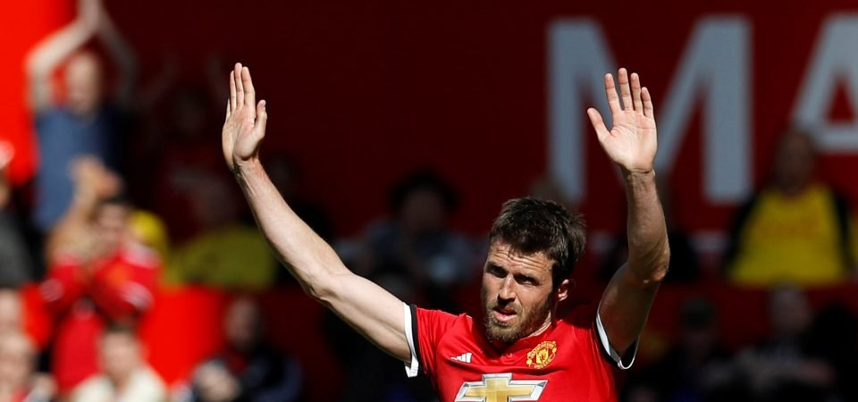 Carrick produced typically composed performance in final Man United game