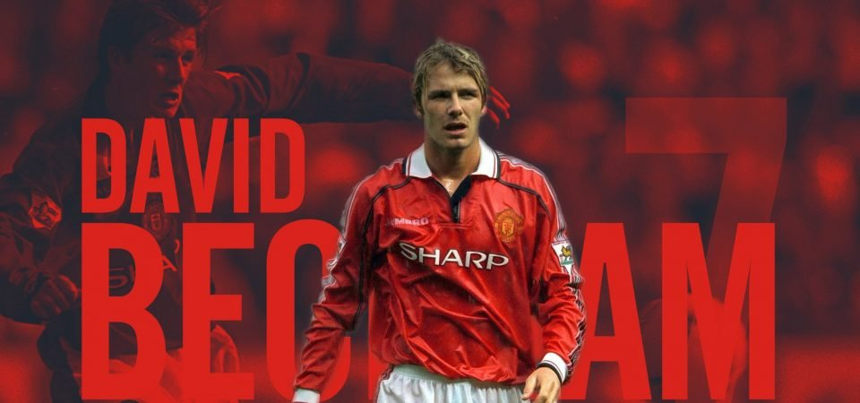 Player Zone: David Beckham changed what it means to be a footballer