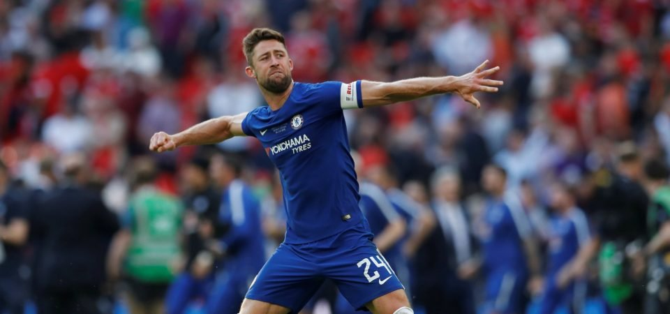 Chelsea fans want Cahill to be sold
