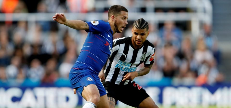 Insipid Hazard epitomised Chelsea's lack of desire against Newcastle