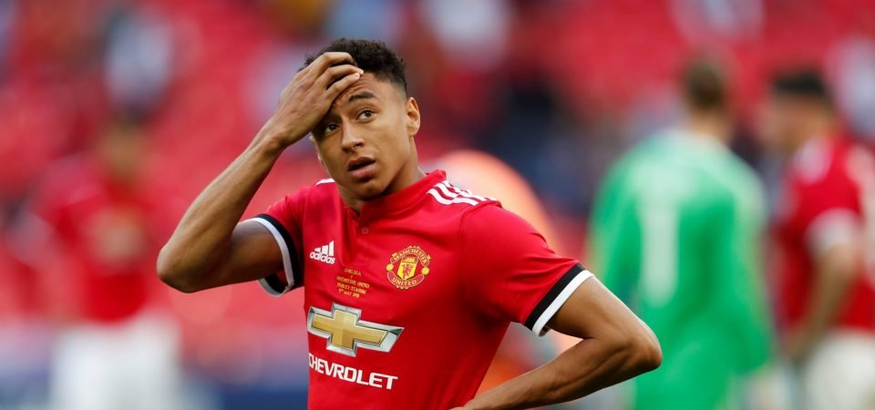Lingard summed up United's inability to turn possession into chances at Wembley