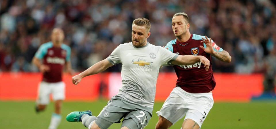 Man United losing Shaw for free would be all because of poor Mourinho treatment