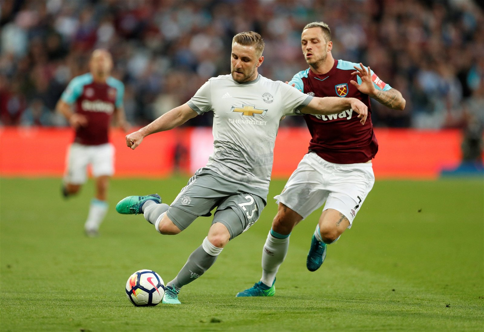 luke shaw pogba west ham manchester united