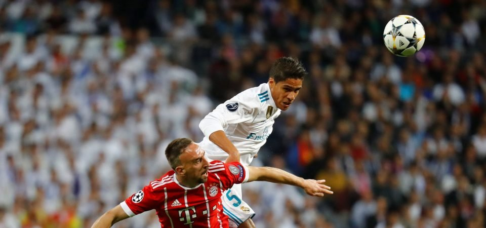 Varane reuniting with Mourinho would overhaul Man United's defence