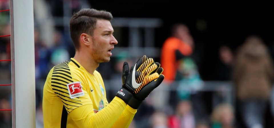 Liverpool fans linked to yet another keeper as Pavlenka enters the mix, fans react