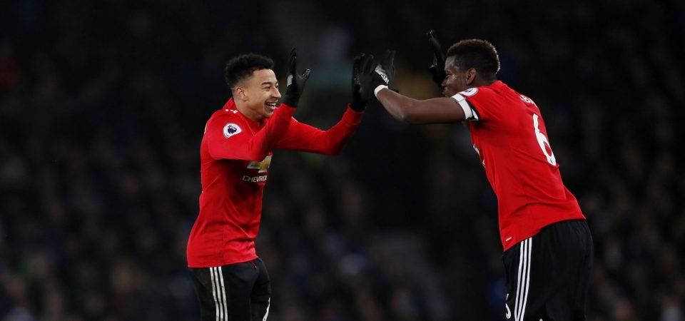 Lingard is showing more of his ability than Pogba because he has remained hungrier