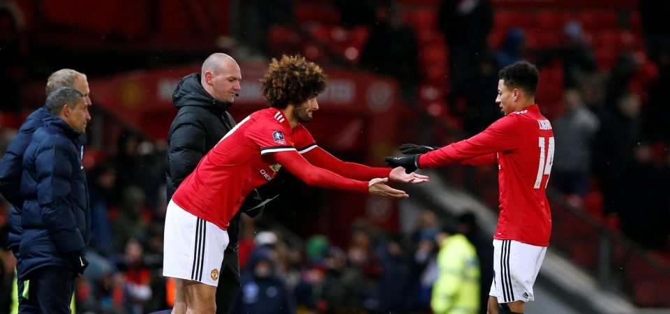 Lingard can bolster Man United's central midfield ranks if they allow Fellaini to go
