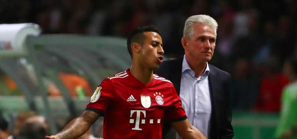 Man City fans undecided on whether Guardiola should swoop for Thiago Alcantara
