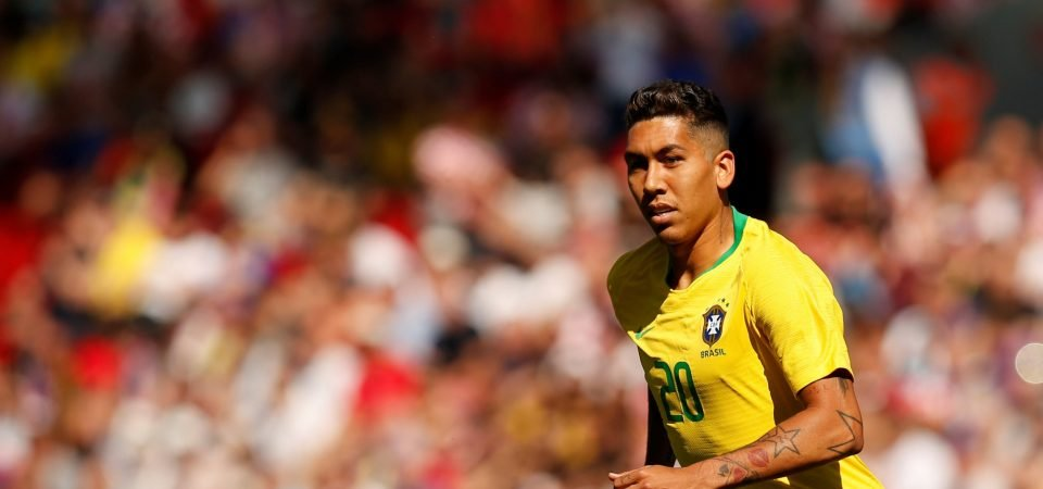 Liverpool fans back Firmino to progress furthest at World Cup with Brazil