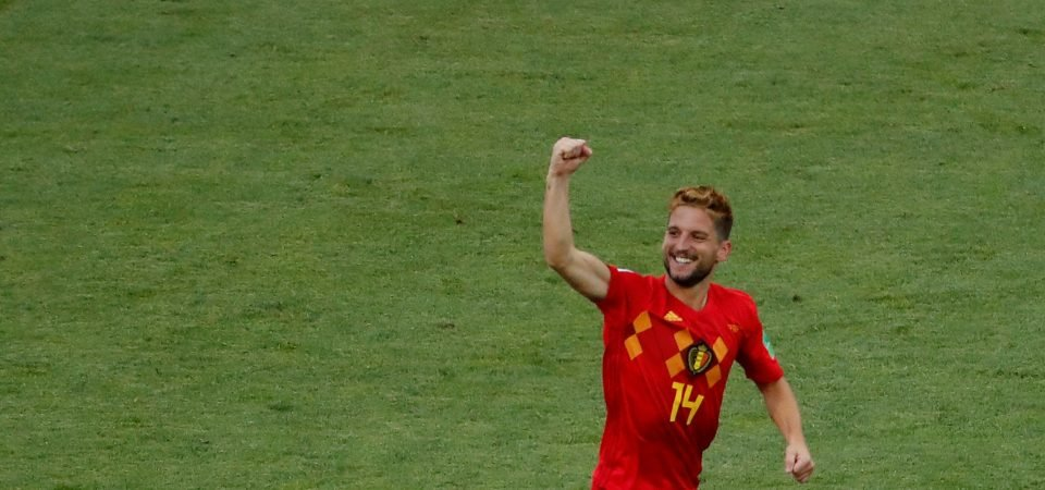 Everton should make an ambitious swoop for Belgium's Dries Mertens
