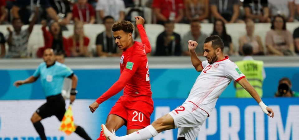 England fans think Tottenham Hotspur star Alli is partly to blame for World Cup injury worry