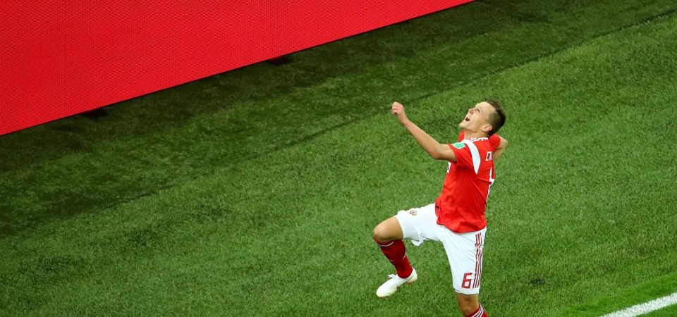 Tottenham Hotspur should turn attention to Cheryshev following World Cup displays