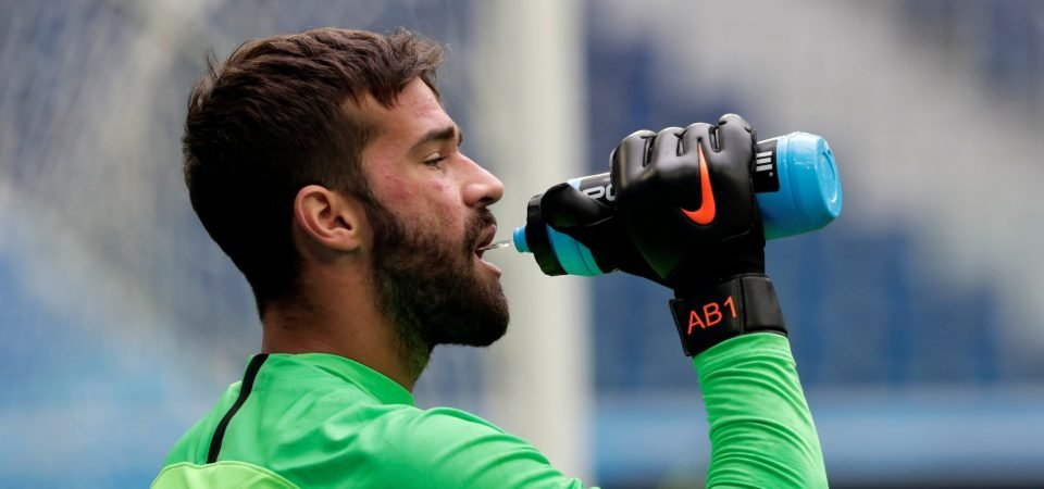 Liverpool fans no longer convinced by Alisson following Brazil clash against Serbia