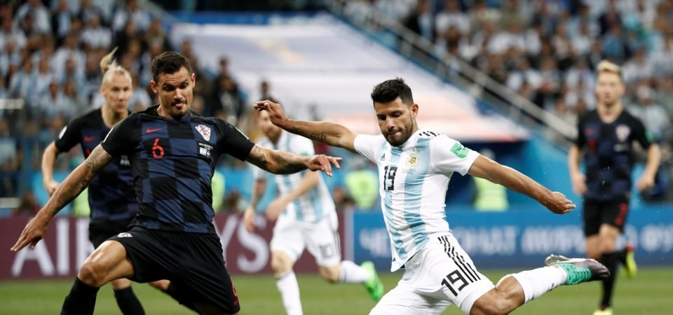 Manchester City fans stick up for Aguero following horror night for Argentina
