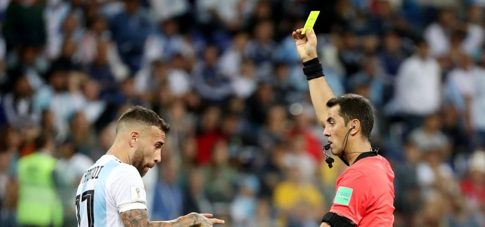 Manchester City fans hit out at Otamendi over controversial moment at World Cup