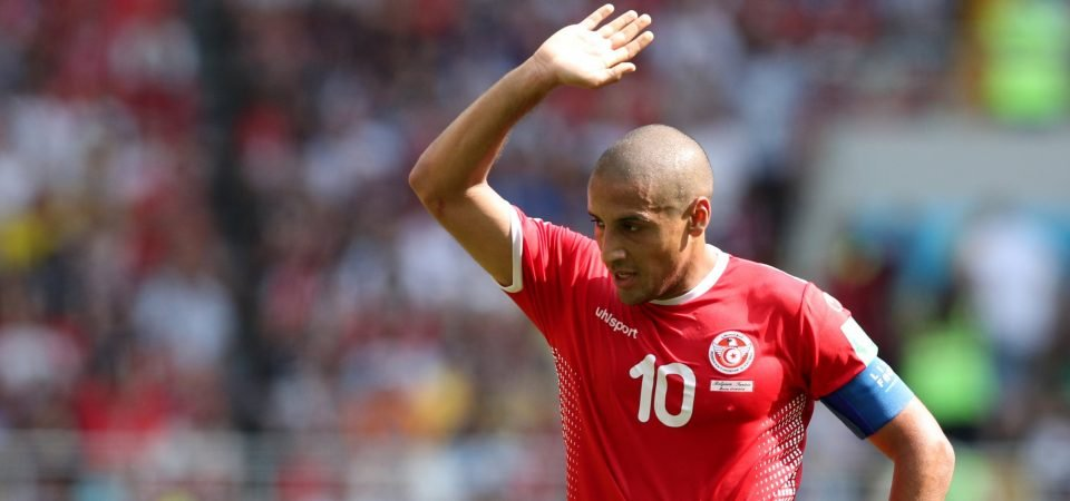 Liverpool fans suggest move for Khazri following outing against Belgium