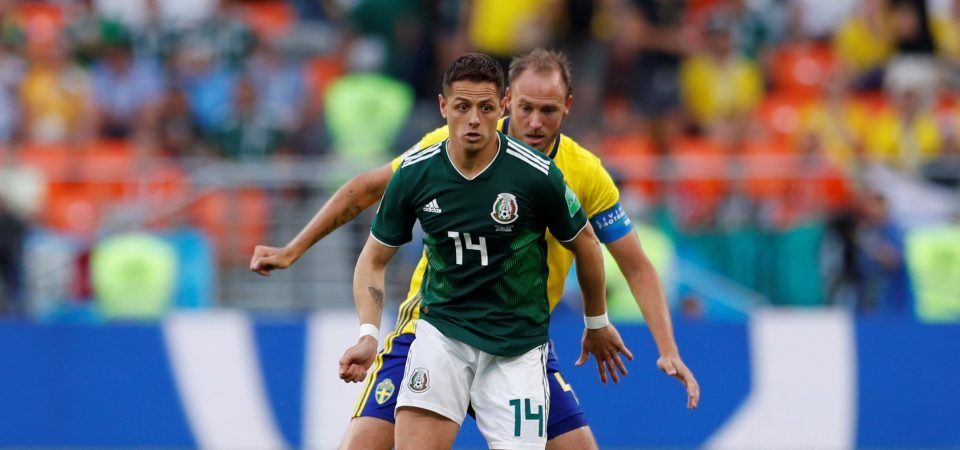 Hernandez's World Cup displays show West Ham United he needs to play up front