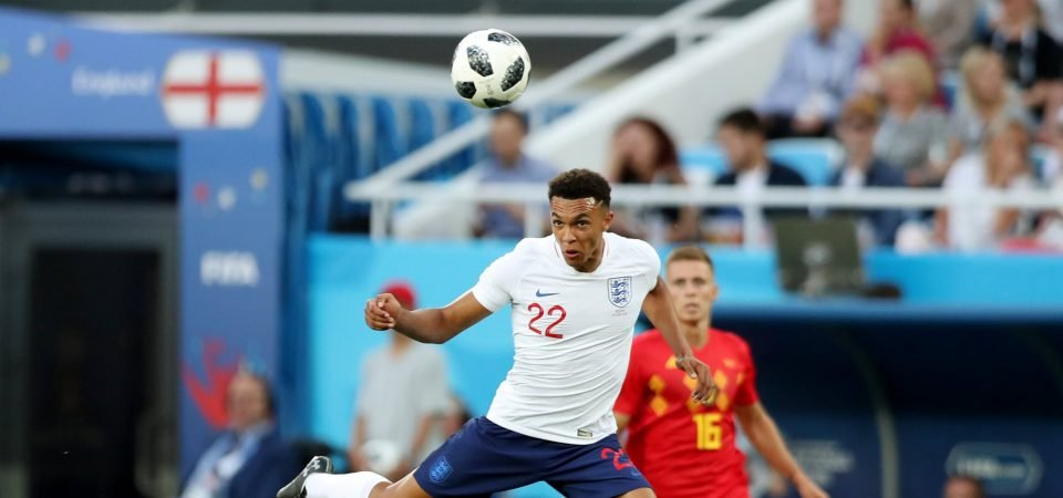 Alexander-Arnold proves on England duty in Russia that he could change roles for Liverpool