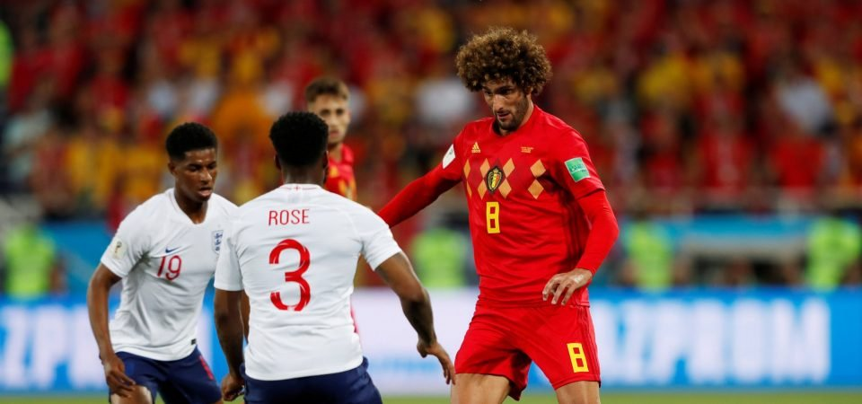 Fellaini divides Manchester United fans but performance for Belgium shows he can still do a job