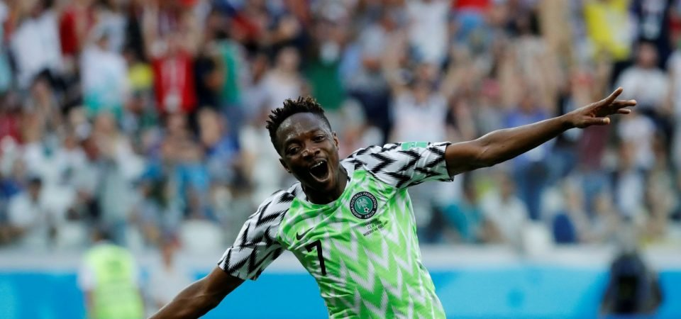 Newcastle could land bargain deal in Ahmed Musa