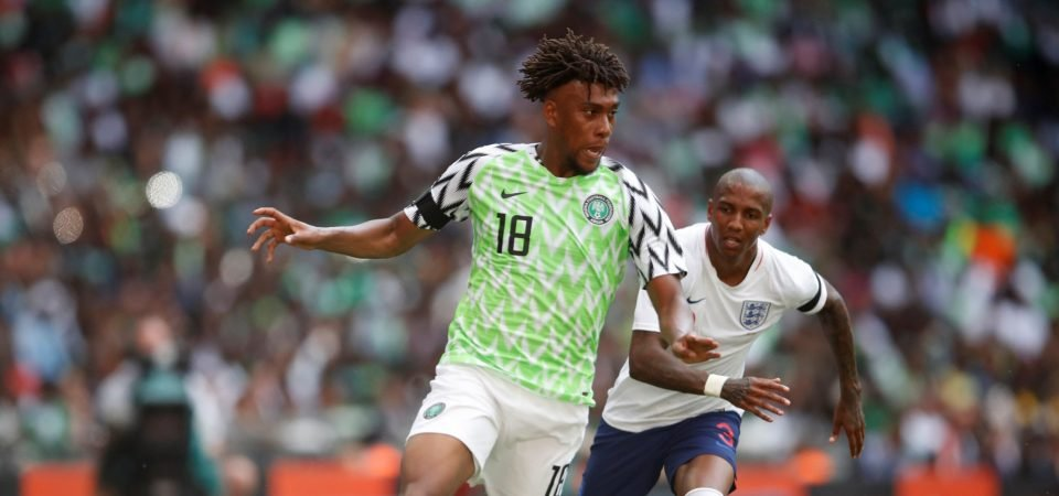 Arsenal fans react to surprise Iwobi exit links
