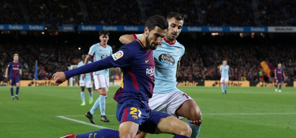 Arsenal fans not happy with links to Barcelona's Andre Gomes