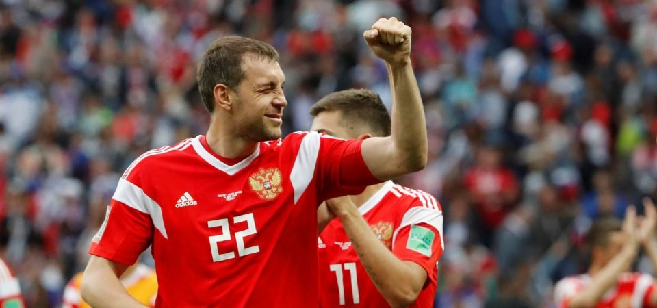 Artem Dzyuba proved against Spain why he would be perfect for Southampton