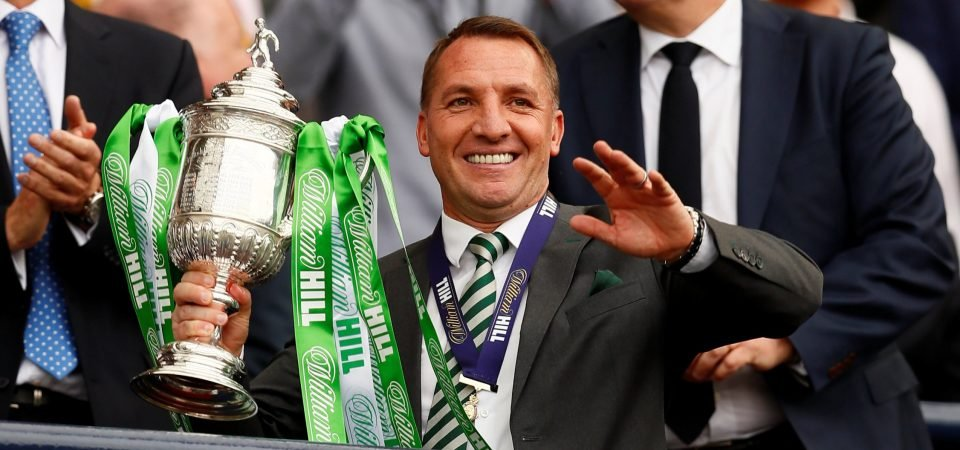 Celtic fans on Twitter back Brendan Rodgers after press conference comments
