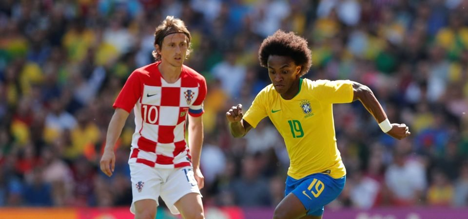 Willian signing would provide United with a direct and powerful goal threat
