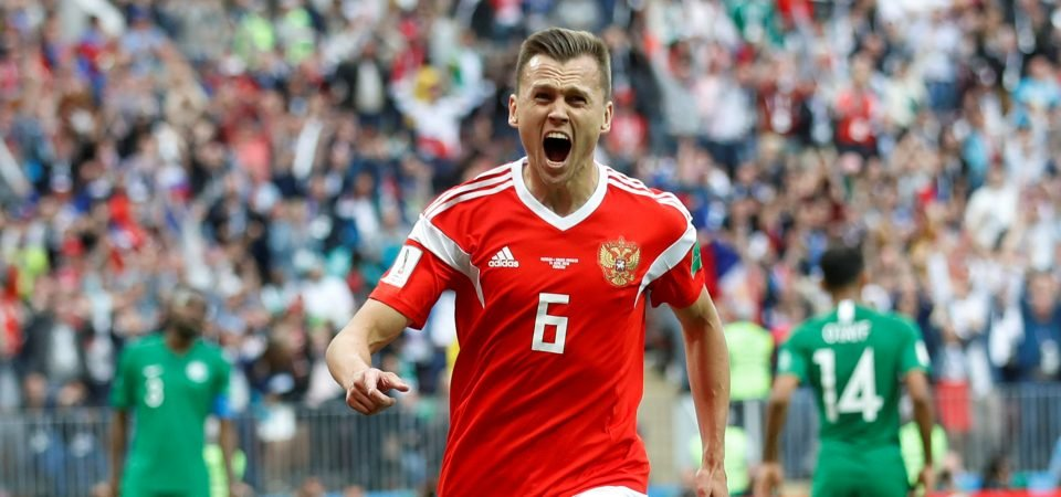 Cheryshev's performances in home World Cup show why Nuno should bring him to Wolves