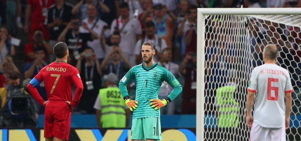 Liverpool fans revel in David de Gea's costly World Cup howler