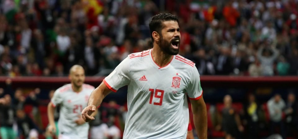 Diego Costa performance for Spain made Chelsea fans miss him