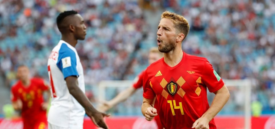 Chelsea fans want club to sign Dries Mertens after Belgium World Cup display