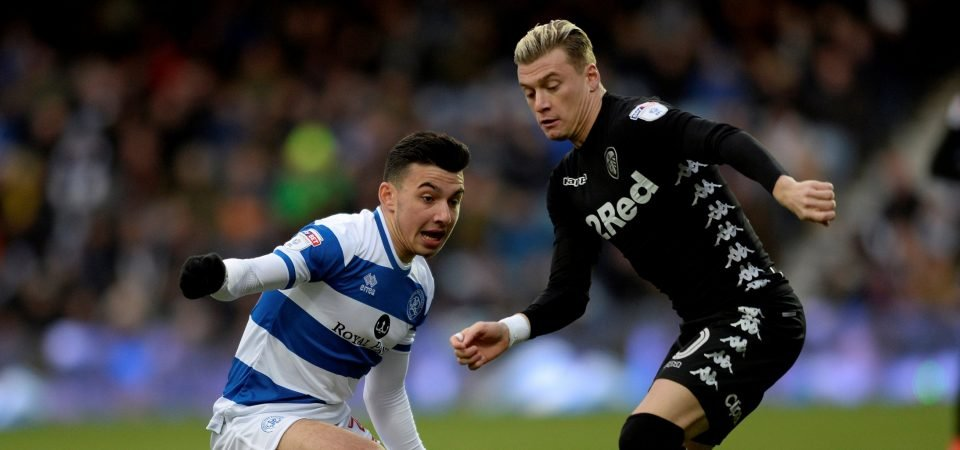 Leeds fans unhappy with Alioski performance